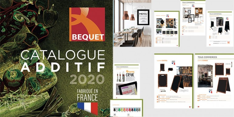 Nouveau CATALOGUE  ADDITIF 2020